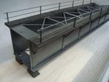 Art.-Nr. 15.295 Kastenbrücke 894 mm aus Stahlblech, Pulver beschichtet und einbrennlackiert.