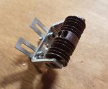 Art.-Nr. AZL 6409-2 Fahrleitungisolator mit Halterung und Montageplatte, 1 Stück