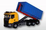 Art.Nr. E20809 Scania R mit Abrollmulde groß 1:25