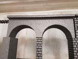 Art.-Nr. 17.100 Brückenelement mit 2 Bogen