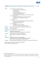 Datenschutz in betrieblicher Organisation und Praxis (1 Tag)