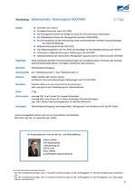 Datenschutz– Konvergenz ISO27001 (1 Tag)