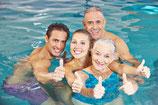 Brustschwimmen Level 1 (Nichtschwimmer) Erwachsene im Salesianum / Tag:  Samstag