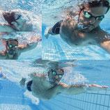 Kraulschwimmen Level 2 (Fortgeschritten) Erwachsene im Salesianum / Tag:  Samstag