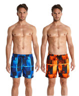 "Badeshort Printed Check Leisure 16"" Watershort von Speedo"