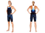Super Elite Recordbreaker Closed Back Kneeskin Suit