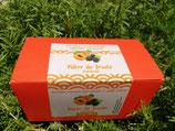Ballotin pâtes de fruits mûres/abricot cardamome