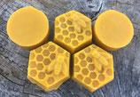 Cire d'abeilles moulée - Cire d'opercules naturelle et BIO.