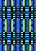 Blaue Fenster - Standard