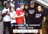 Tee-Shirt Jack's Tiger NOIR
