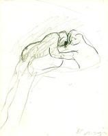 Anzinger (Siegfried Anzinger - Zeichnung, Malerei, Skulptur) 1986.