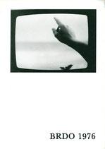 Brdo 1976 (Katalog zum Künstler-Treffen: Abramovic, Bechtold, Cibulka).