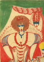 Aloise (Aloise Corbaz - Peinture et Musique au theatre) 1941.