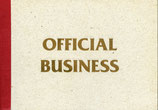 Bechtold (Buch / Book: Gottfried Bechtold - Official Business) 1993