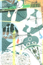 Pittman (Lari Pittman - Paintings 1992) 1992.