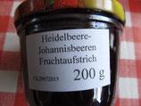 Heidelbeere-Johannisbeere 200g Glas