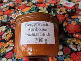 Bergpfirsich-Aprikosen Fruchtaufstrich  200g--F111