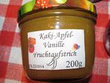 Kaki-Apfel-Vanille-Fruchtaufstrich 200g-- F156
