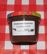 Rhabarber- Himbeeren  Fruchtaufstrich  200g --F161