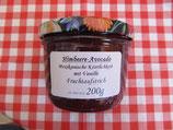 Himbeere-Avocado Fruchtaufstrich Mexikanische Köstlichkeit mit Himbeeren und Avocado-- F42