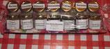 1 Woche Marmelade---7x45g Gläser--Ideal für Urlaub oder Geschenk in Verpackung.