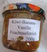 Kiwi-Banane & Vanille Fruchtaufstrich--F99