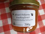 Pfirsich-Nektarinen Fruchtaufstrich 200g--F123