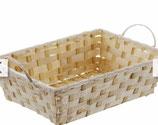 Bambuskörbchen eckig 7, incl. Verpackung