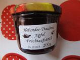 Holunder-Traube & Apfel Fruchtaufstrich 200g--F47