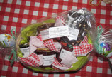 Körbchen   groß mit Marmelade --- Korb 1