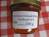 Aprikose-Holunderblüten Fruchtaufstrich 200g--F118