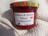 Erdbeere-Minze Fruchtaufstrich 200g---F19