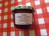 Erdbeere-Himbeere-Stachelbeere --stückig--Fruchtaufstrich 200g