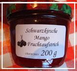 Sauerkirsche & Mango Fruchtaufstrich 200g--F107