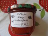 Erdbeeren-Mango Fruchtaufstrich 200g-- F154