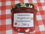 Rote Johannisbeeren-Bergpfirsich 200g F29