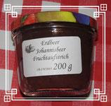 Erdbeeren-Johannisbeeren-Fruchtaufstrich 200g--F80