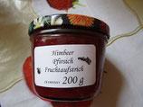 Himbeeren & Pfirsich Fruchtaufstrich 200g--F115