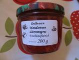 Erdbeere & Mandarine mit Zitronengras 200g --Sehr erfrischend...  F54