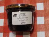 Schwarze Johannisbeere--stückig--Fruchtaufstrich 200g
