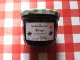 Heidelbeere-Mango-Fruchtaufstrich 200g-- F203