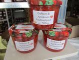 Erdbeer-Aprikosen Fruchtaufstrich  200g --F15
