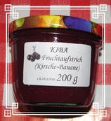 Kiba (Kirsche-Bananen) Fruchtaufstrich 200g-- F227