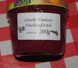 Litschi-Himbeeren Fruchtaufstrich 200g --F129
