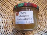 Birne-Maracuja Fruchtaufstrich 200g--  F7