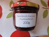 Sauerkirsche-Espresso Fruchtaufstrich 200g --F210