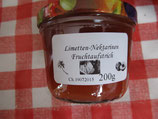 Limette-Nektarinen Fruchtaufstrich 200g --F146