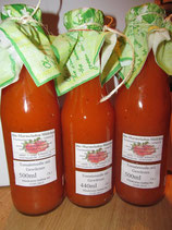 Pastasauce -Tomate-Curry 500ml Flasche
