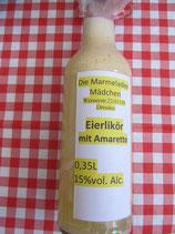 Eier-Likör mit Amaretto 0,35L  L15