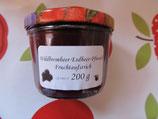 Wildbrombeer-Erdbeer-Pfirsich Fruchtaufstrich 200g -- F245